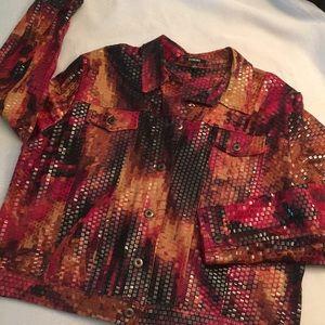 Elementz textured jacket